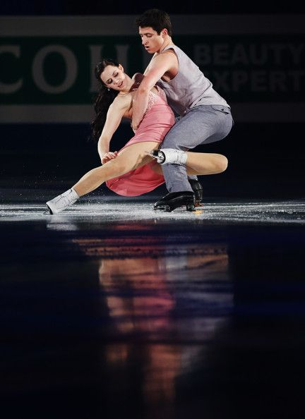 Tessa Virtue and Scott Moir of Canada perform their routine in the Gala during day four of the ISU Grand Prix of Figure Skating Final 2013/2...