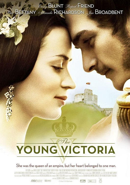 The Young Victoria - love this poster