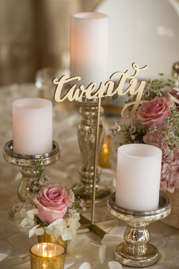 Inspiration – Table Numbers – Ultrapom: wedding and event decor rental