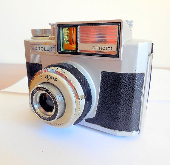 Bencini Koroll II 1960s 120 Film Camera with by ClassicCameraMore