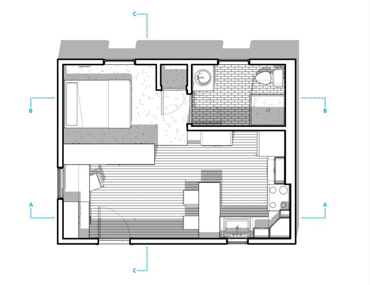 300 Sq Ft Apartment Layout Mulberry 300 Sq Ft Studio