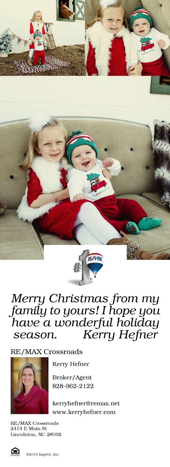 christmas card insert  lincolnton merry christmas cards