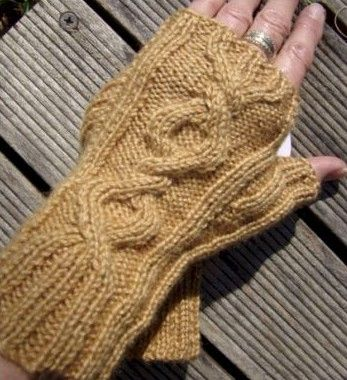 City Circle Mitts. Fingerless. 2x2 ribbed for complete comfort. http:wwwknittingstation.com