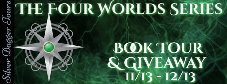 The Four Worlds #fantasy Series Spotlight & a $15 Amazon gift card #Giveaway ~ A Mama's Corner of the World