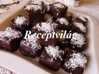 Kókuszos-grízes bonbon - RECEPTVILÁG - Receptes oldal - receptek képekkel