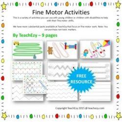 Fine Motor Resource Pack Free