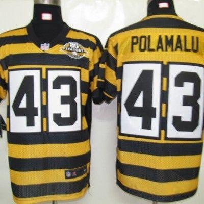 5b657cb3446 ... Troy polamalu jersey Pittsburgh Steelers Troy Polamalu 43 ...
