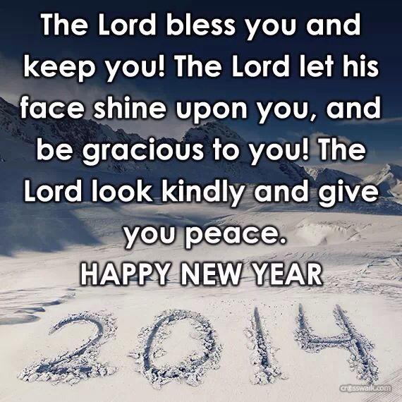 2014 happy new year scriptures