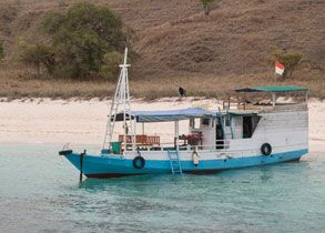 Boat - Komodo Island Tour