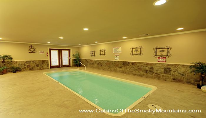 Aqua Dream In Retreat Private Indoor Pool Mountain Views Wi Fi Theater Room Easy Access Vacation Rental Cabin Rentals Indoor Pool