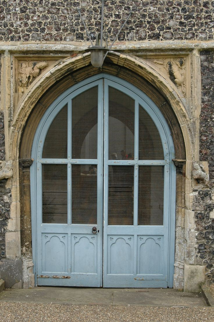 Bungay Church door