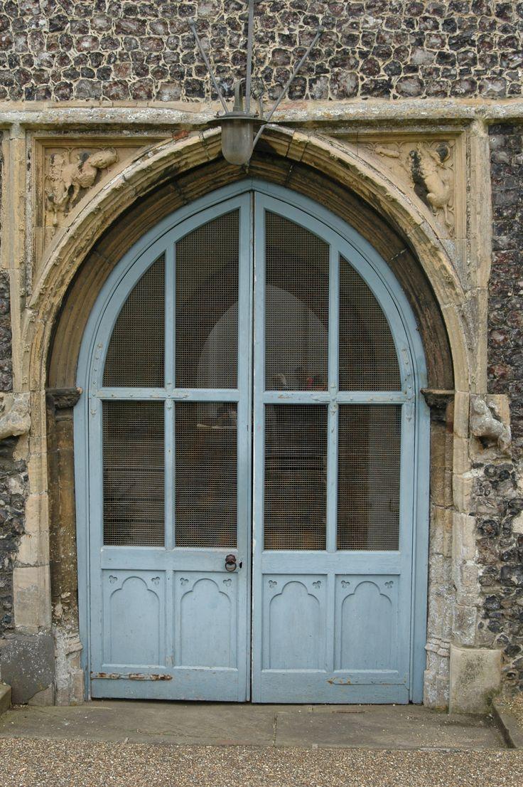 Bungay Church door