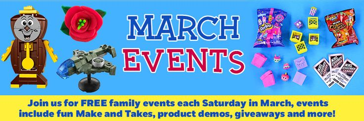 Free March Events - Toys R Us Canada -  http://www.groceryalerts.ca/free-march-events-toys-r-us-canada/