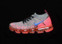 c42765b150551 Nike WMNS Air VaporMax 2. 0 White Ultramarine Hot Punch Black 942843 104  Women s Running Shoes