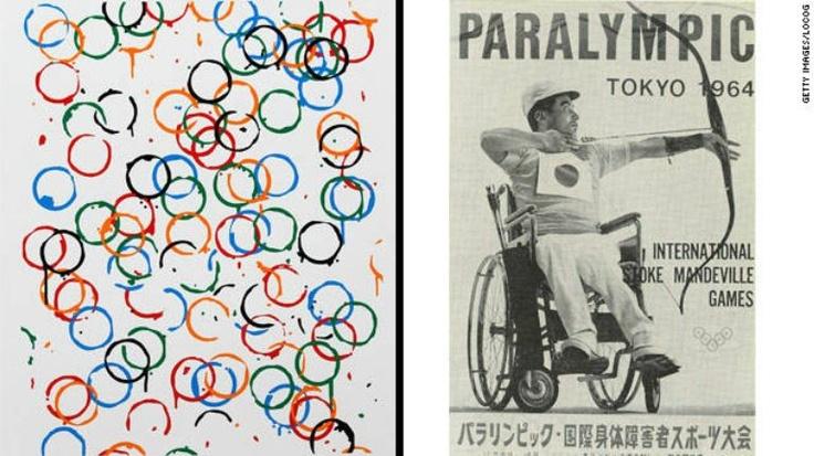 1964年、パラリンピックポスター