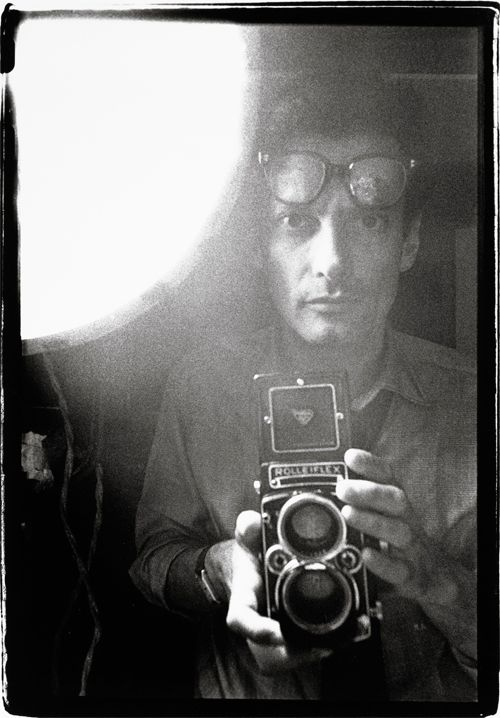 """""""A portrait is not a likeness. The moment an emotion or fact is transformed into a photograph it is no longer a fact but an opinion."""" - Richard Avedon (self-portrait, 1963)"""