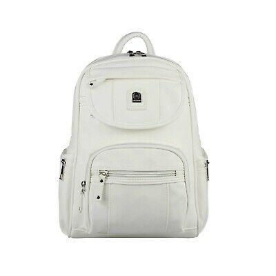 Photo of WOMEN'S BACKPACK BAG BackPack City Backpack Leather Look Shoulder Bag Daypack: …