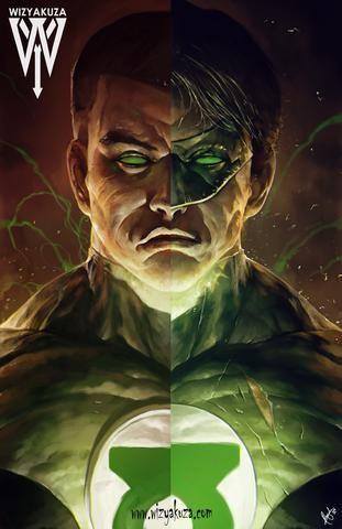 Green Lantern Split