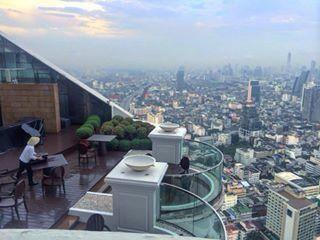 @ujjwala_n Lebua state tower, thailand, travel diaries, honeymoon, bangkok, bangkok city travel, lebua balcony, balcoony view, thailand view, hangover movie, dinner, rooftop, honeymoon, destination, balcony view, bangkok city, best hotels in the world, rooftop view, breakfast, city skyline, sky scrapers, Thai