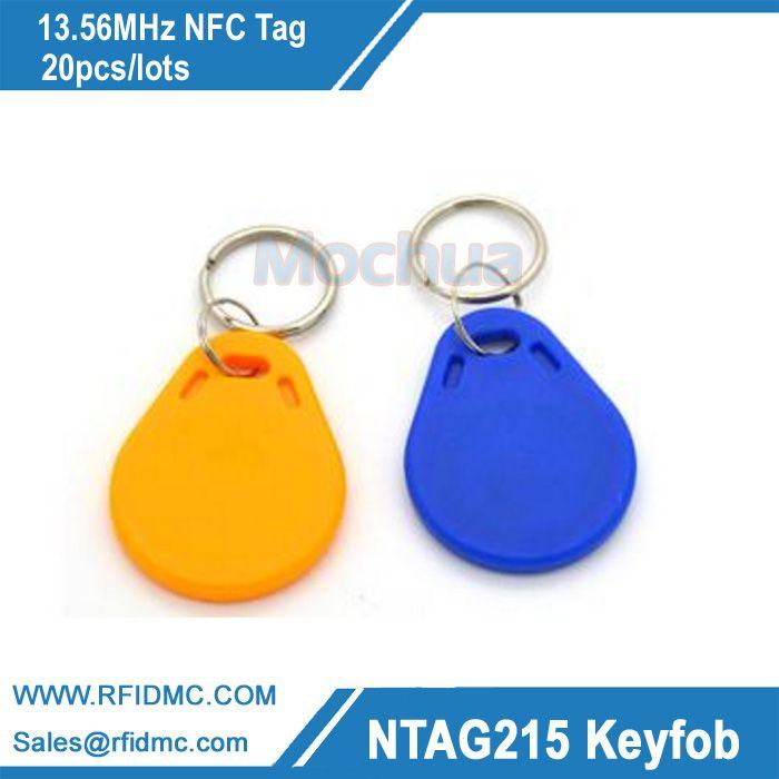 13.56 MHz Amiibo Ntag215 key fob Tag NFC NFC tag