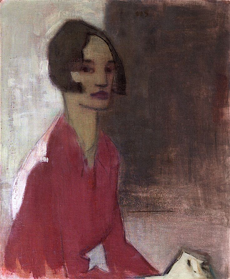Helene Schjerfbeck - )