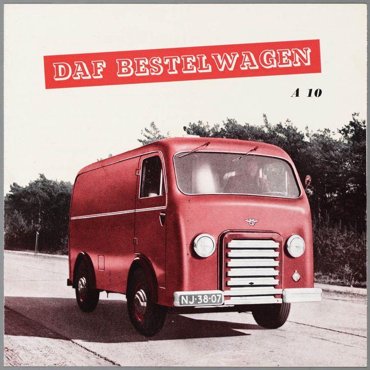 DAF A10 van / DAF A10 bestelwagen