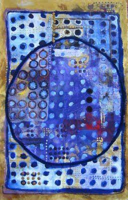 Light of the Moon by Judy Martin: September 2009, Art Blue, Art Colors, Judy Martin, Textiles Artists, Art Abstract, Art Propel, Blue Art, The Moon