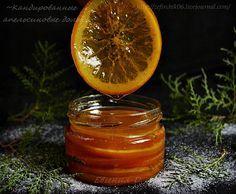 Еще давно положила глаз на этот рецепт. Ничего трудного и заумного нет, продукты элементарные, но как это вкусно и эффектно! Апельсины (2 шт.) нарезать дольками толщиной 3-5 мм, залить холодной водой, довести до кипения. Выключить огонь, дать постоять 5 минут, воду слить. - Снова залить холодной…