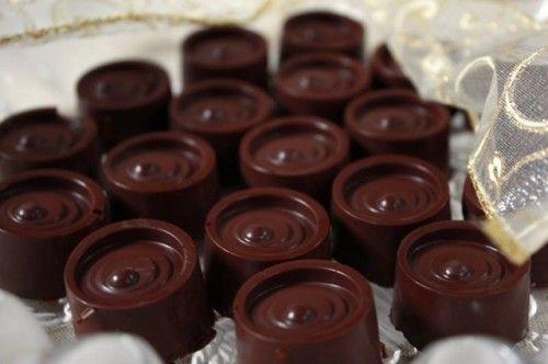 Narancsos marcipánálom csokoládéköntösben