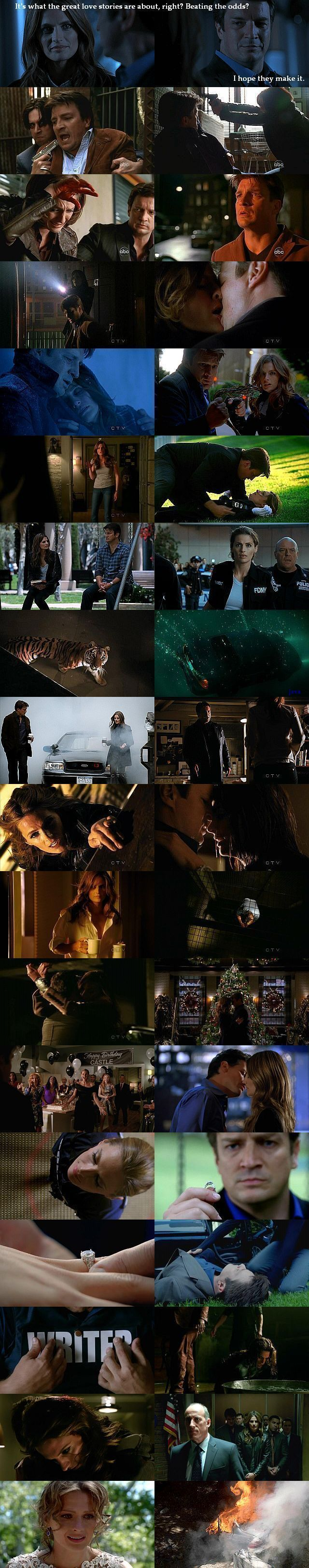 some of the best and most suspensful castle moments