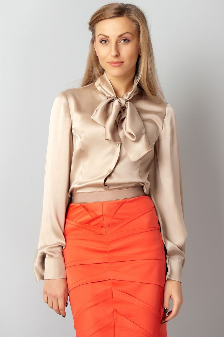 17 best ideas about Bow Blouse on Pinterest
