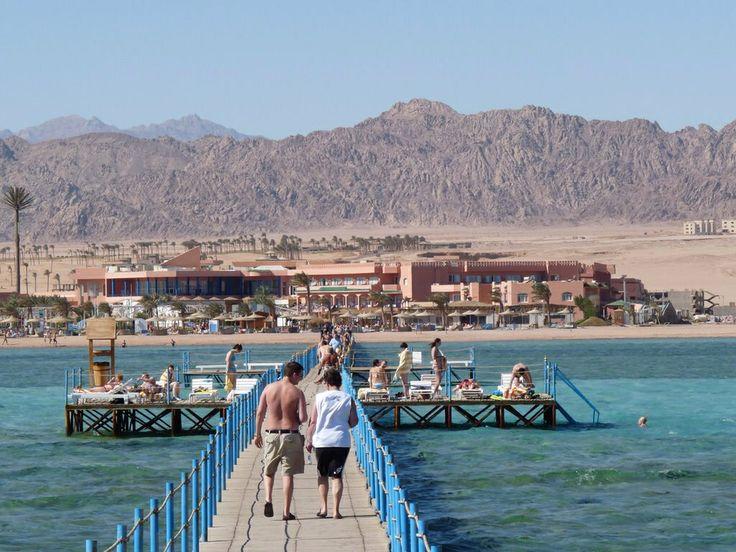 Sharm El Sheikh view of the Sinai Mountains, Egypt