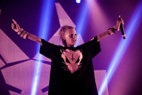Die Antwoord by Tomi Palsa, Flow Festival 2014.