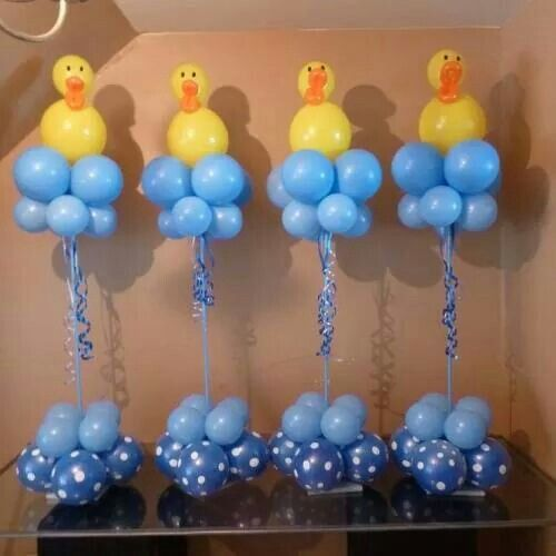 Baby shower balloon creations