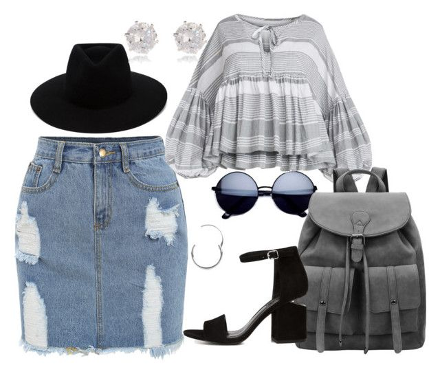 """First day of school"" by raiynel on Polyvore featuring rag & bone, Urbiana, River Island and Alexander Wang"