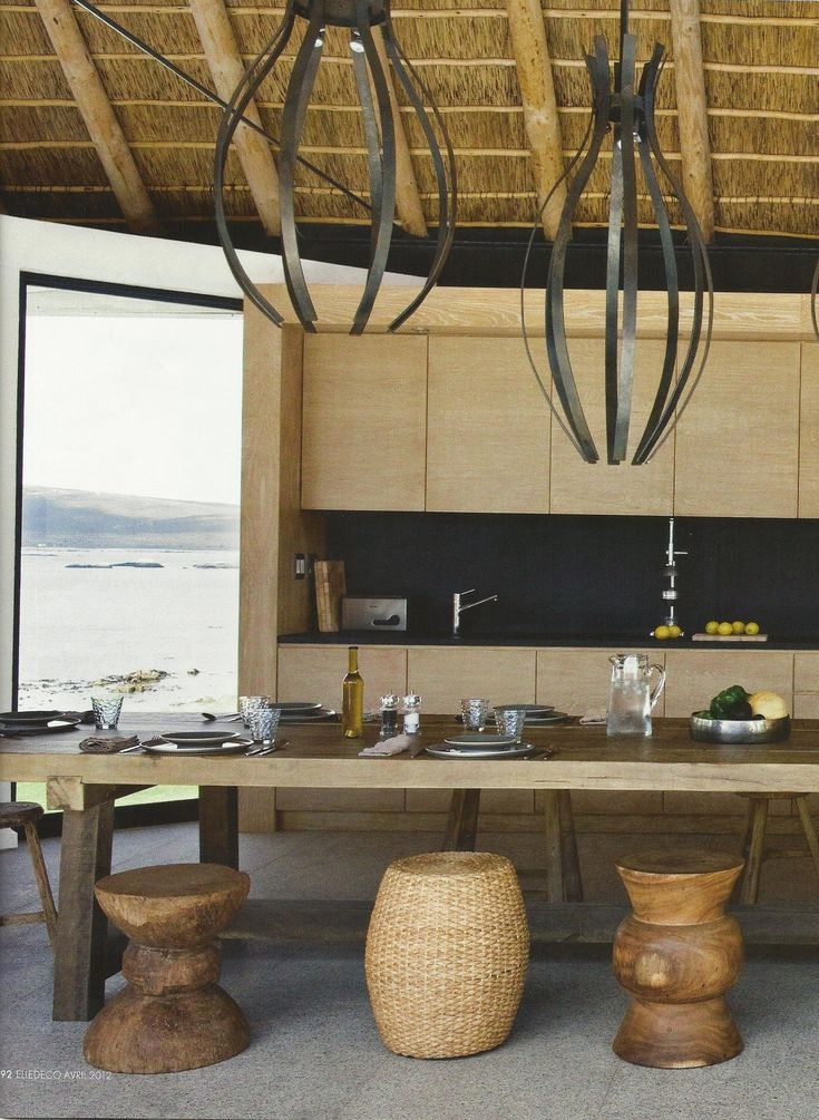 Great Looking  Kitchen in South Africa.. wish we could see more of the home