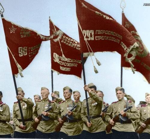 """""""Victory parade"""" 24ijunja 1945. Moscow. The Soviet Union."""