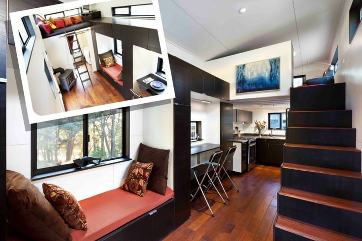 TINY HOUSE vivendo confortavelmente em espaços pequenos