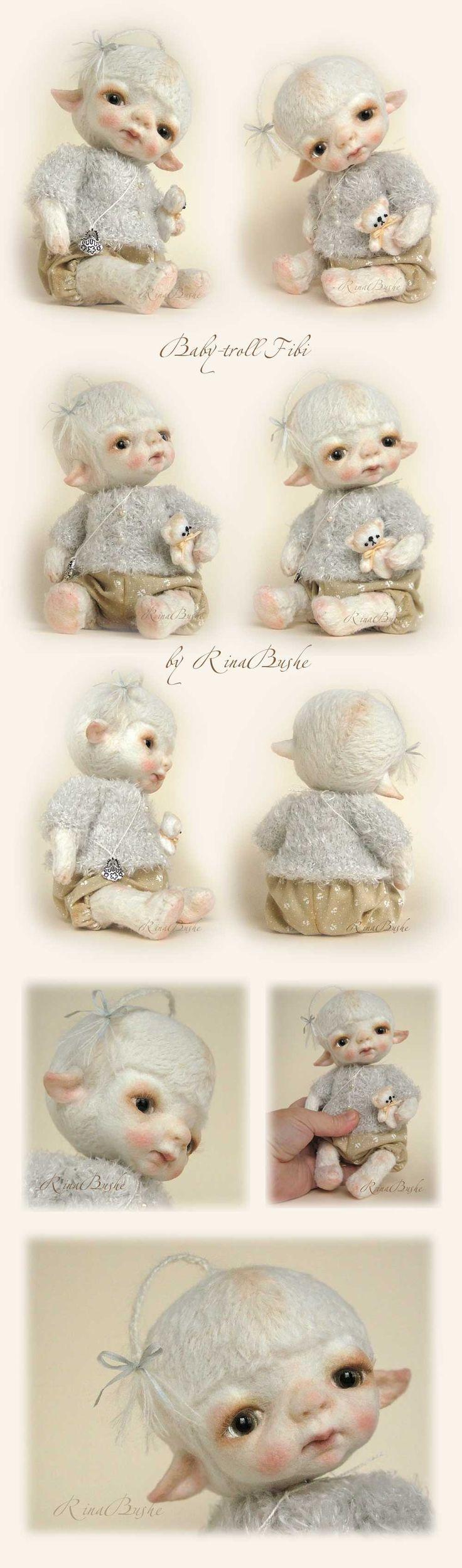 Felt dolls by Rina Bushe