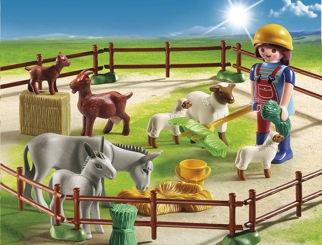 Afbeelding van Playmobil Country 6133 Dierenweide from DreamLand