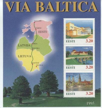 """Estonia """"Via Baltica"""" 1995"""