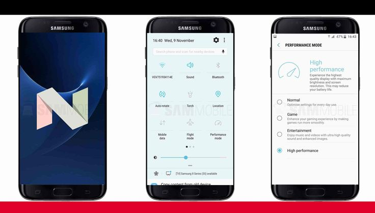Rollout of Samsung S7 Android Nougat Update to begin next week