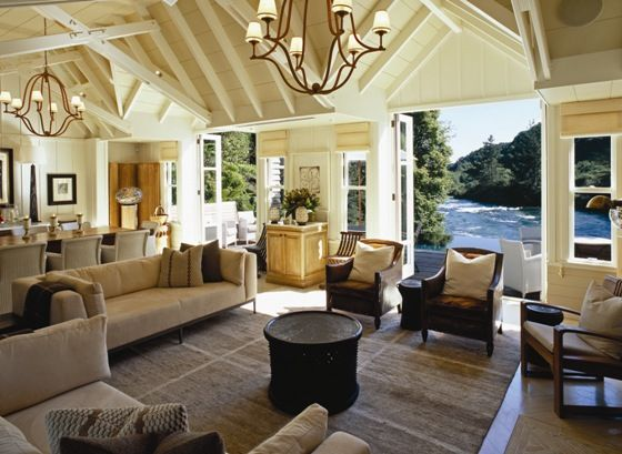 Huka Lodge - Every last detail for guest comfort has been considered and service is both solicitous and seamless. Cuisine continues to define the legendary hospitality of the property along with over 20 private dining venues, both indoors and outdoors, which are truly sublime and deliberately romantic.