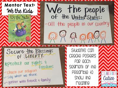 We the Kids: The Preamble to the Constitution {Must Read Mentor Text for Social Studies}