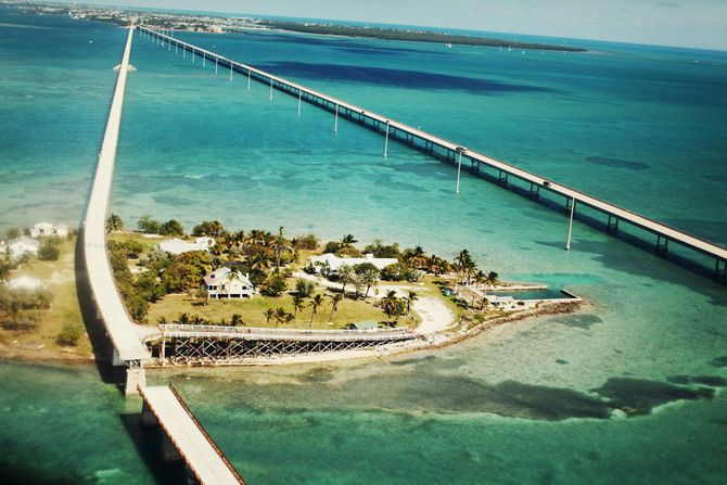 Florida Keys; once you've made it to Pigeon Key, you're less than halfway to Key West!