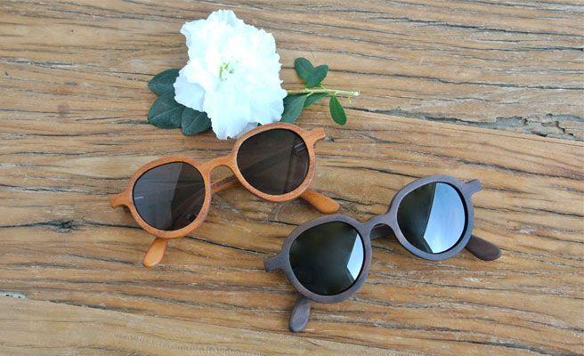 Lentes de sol de madera, la última tendencia del verano
