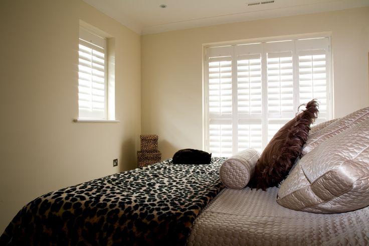 Bedroom #WindowShutters