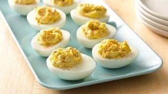 Classic Deviled Eggs recipe from Betty Crocker
