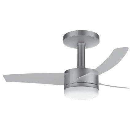 Além de refrescar, o ventilador de teto Ultimate Silver da Arno valoriza e dá um toque de charme no ambiente. Esse modelo funciona como exaustor que mantém o clima agradável sem usar a força do vento. É um ventilador que oferece facilidade máster para você usá-lo com prazer e elegância. Ele possui um moderno controle remoto ultra slim, com suporte de parede, no qual você controla a luz, a velocidade de rotação e também as funções Timer e Dormir. Essas funções proporcionam dias e…