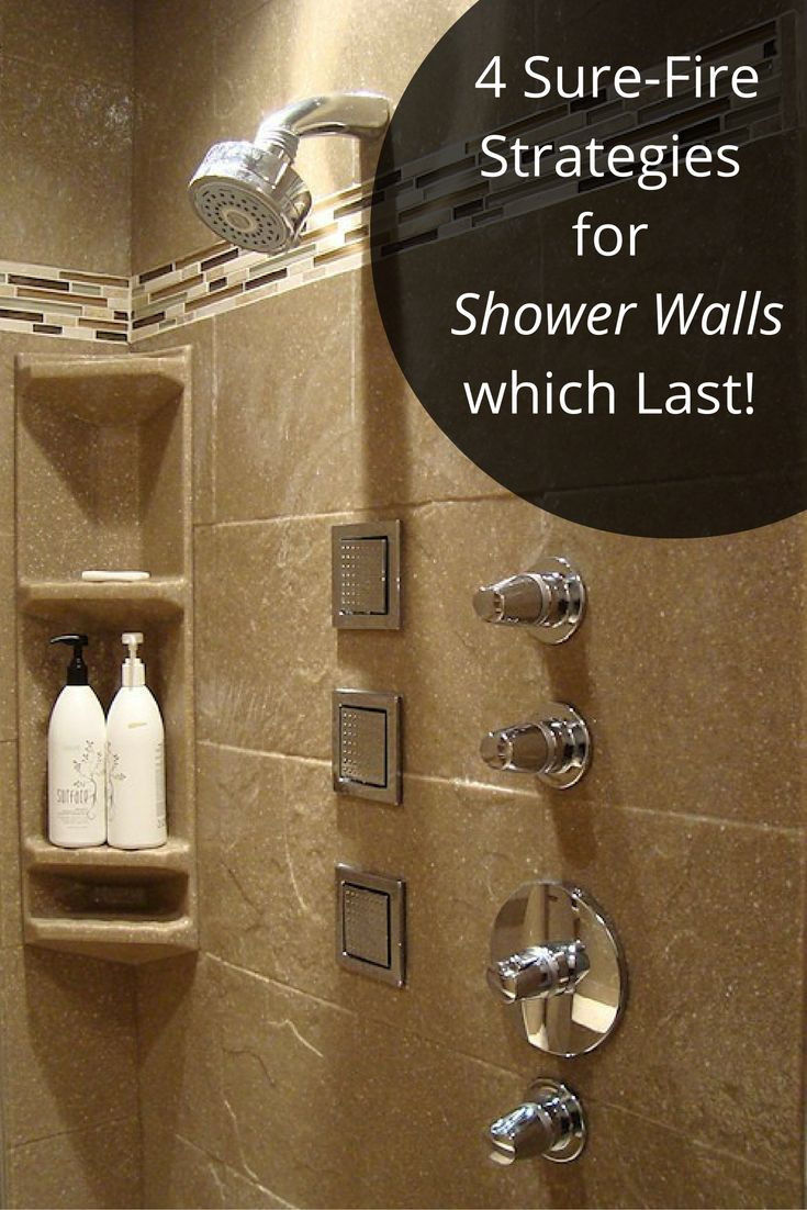 198 best Shower & Tub Wall Panels images on Pinterest | Shower wall ...
